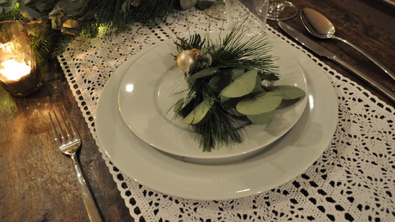 Met tafeldecoratie sfeer toevoegen aan jouw kerst- of nieuwjaarsdiner!