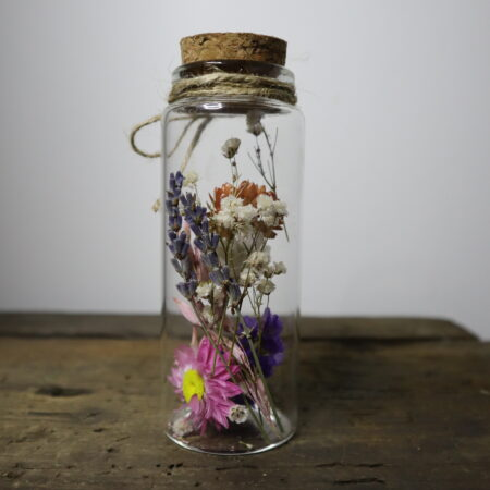 Droogbloemen in glazen buis #10