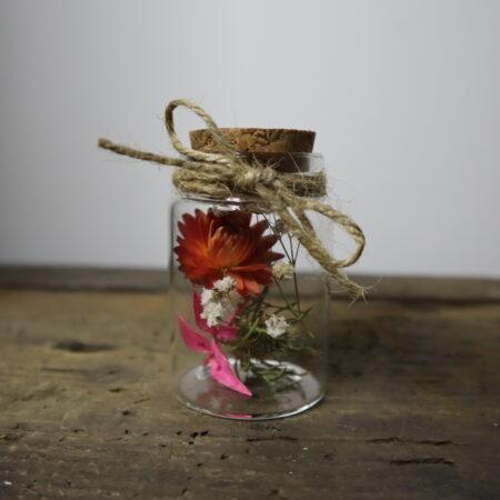 Droogbloemen in glazen buis #12
