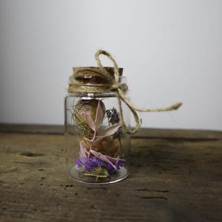Droogbloemen in glazen buis #14