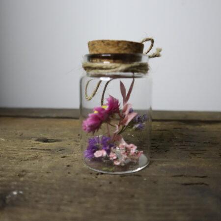 Droogbloemen in glazen buis #15