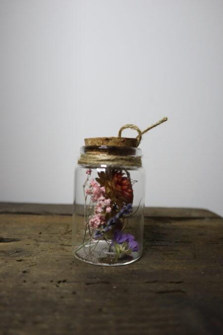 Droogbloemen in glazen buis #16