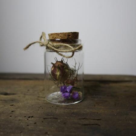 Droogbloemen in glazen buis #17
