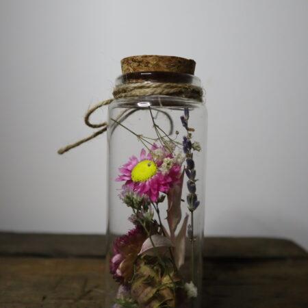 Droogbloemen in glazen buis #18