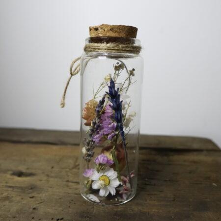 Droogbloemen in glazen buis #3