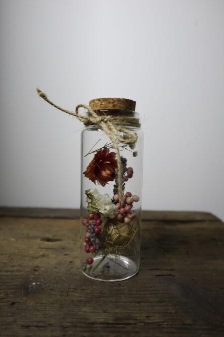 Droogbloemen in glazen buis #4