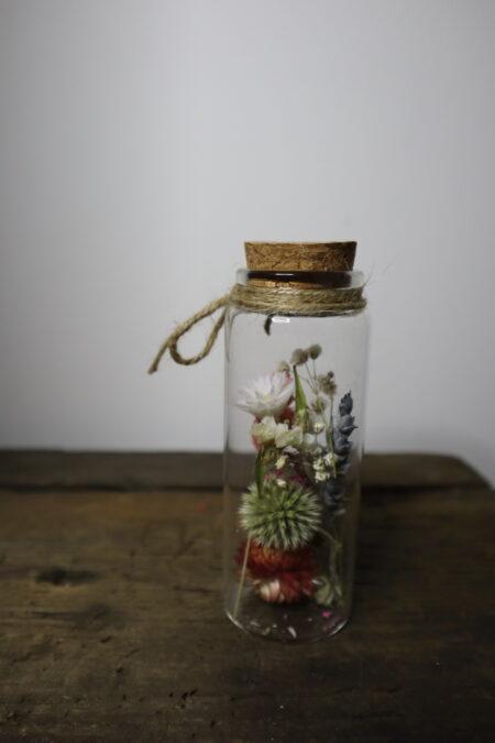 Droogbloemen in glazen buis #6
