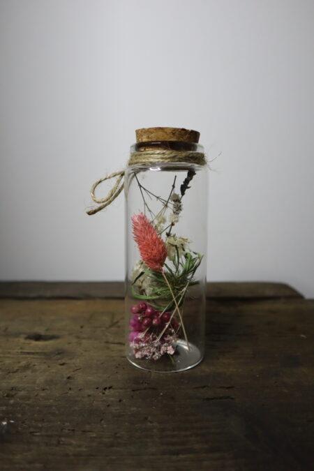 Droogbloemen in glazen buis #7