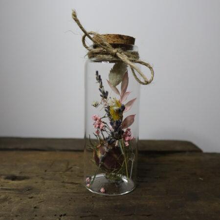 Droogbloemen in glazen buis #8