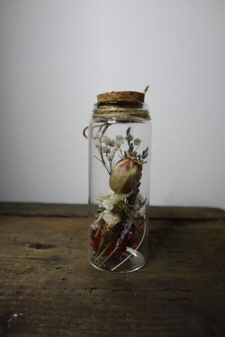 Droogbloemen in glazen buis #9