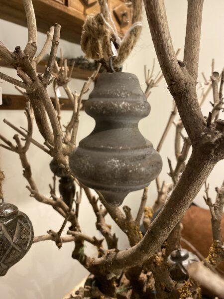 oude grijs ornament