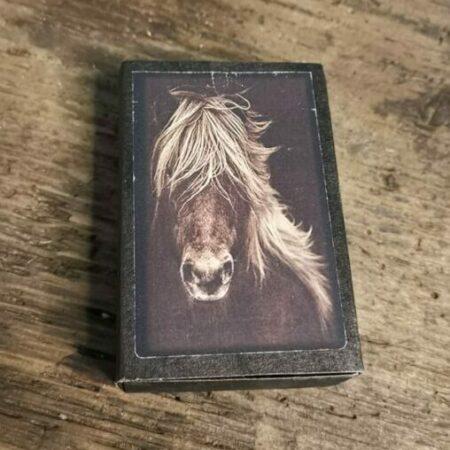 Zeepje in cadeauverpakking met foto paard