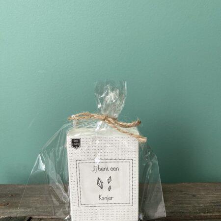 'Jij bent een kanjer' - Soap in a Box