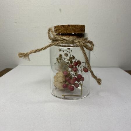 Droogbloemen in Glazen buisje #64