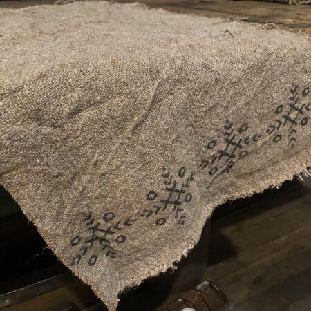Shabby doek hiëroglief