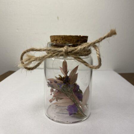 Droogbloemen in Glazen buisje #71