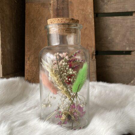 Apothekerspot met droogbloemen L #13