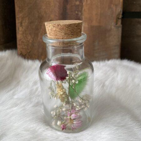Apothekerspot met droogbloemen S #12