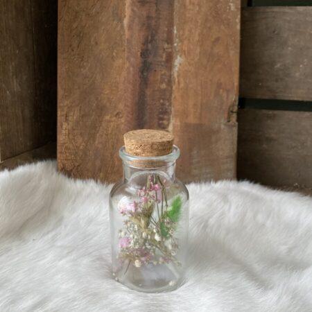 Apothekerspot met droogbloemen S #10