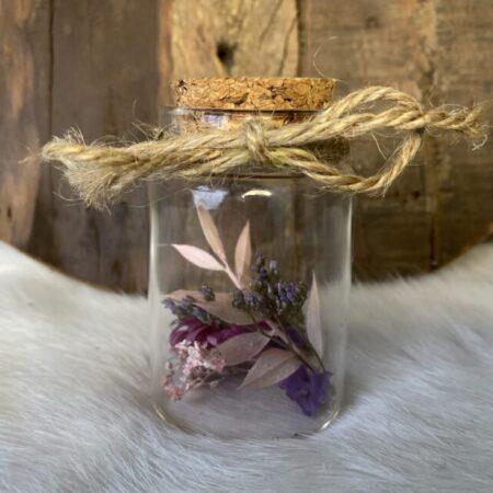 Droogbloemen in glazen buis #25