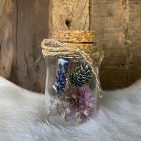 Droogbloemen in glazen buis #53