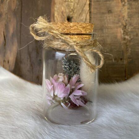 Droogbloemen in Glazen buisje #61