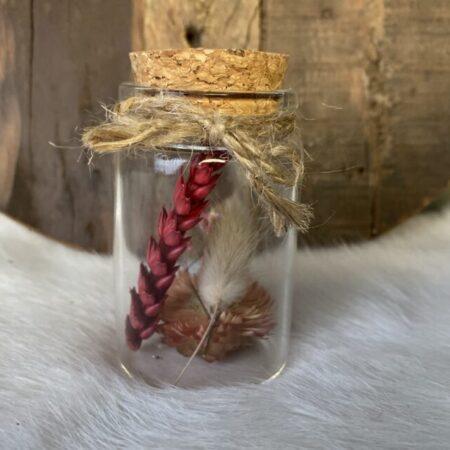 Droogbloemen in glazen buis #23