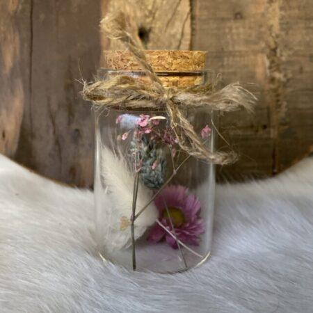 Droogbloemen in glazen buis #27