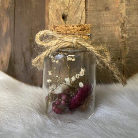 Droogbloemen in glazen buis #47