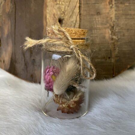 Droogbloemen in glazen buis #26