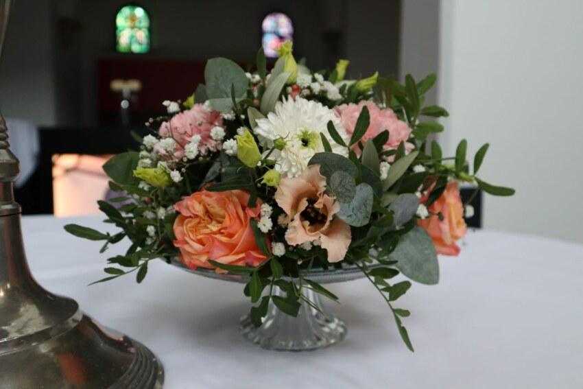 bruiloft bloemen - aankleding