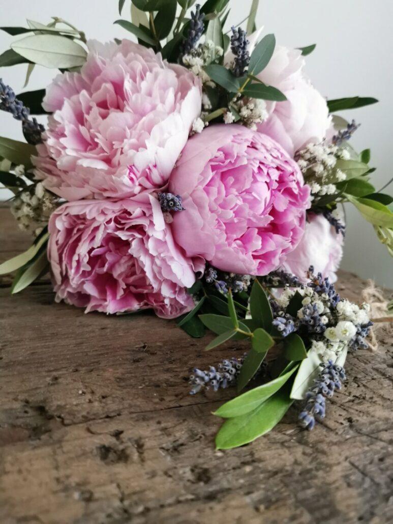 bruidsboeket - bruiloft bloemen