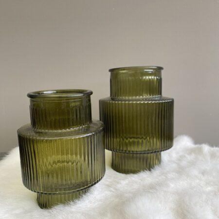 Vaas cilinder (groen)